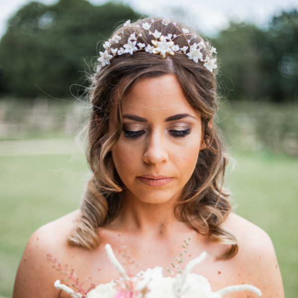 gold bridal hair crown rachel sokhal
