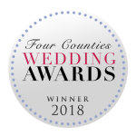 Award Winning Bridal Accessories Badge