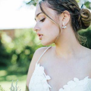 Daniella bridal earrings