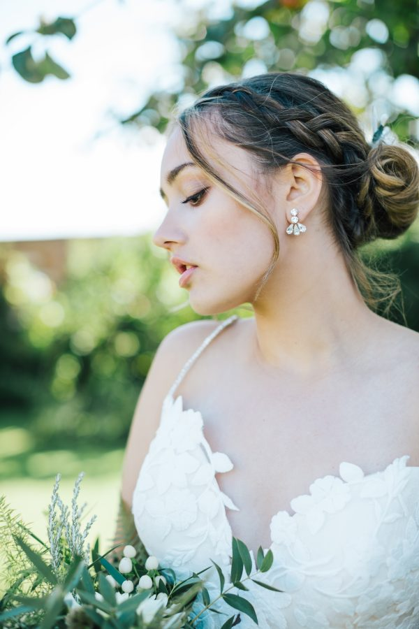 Daniella bridal earrings