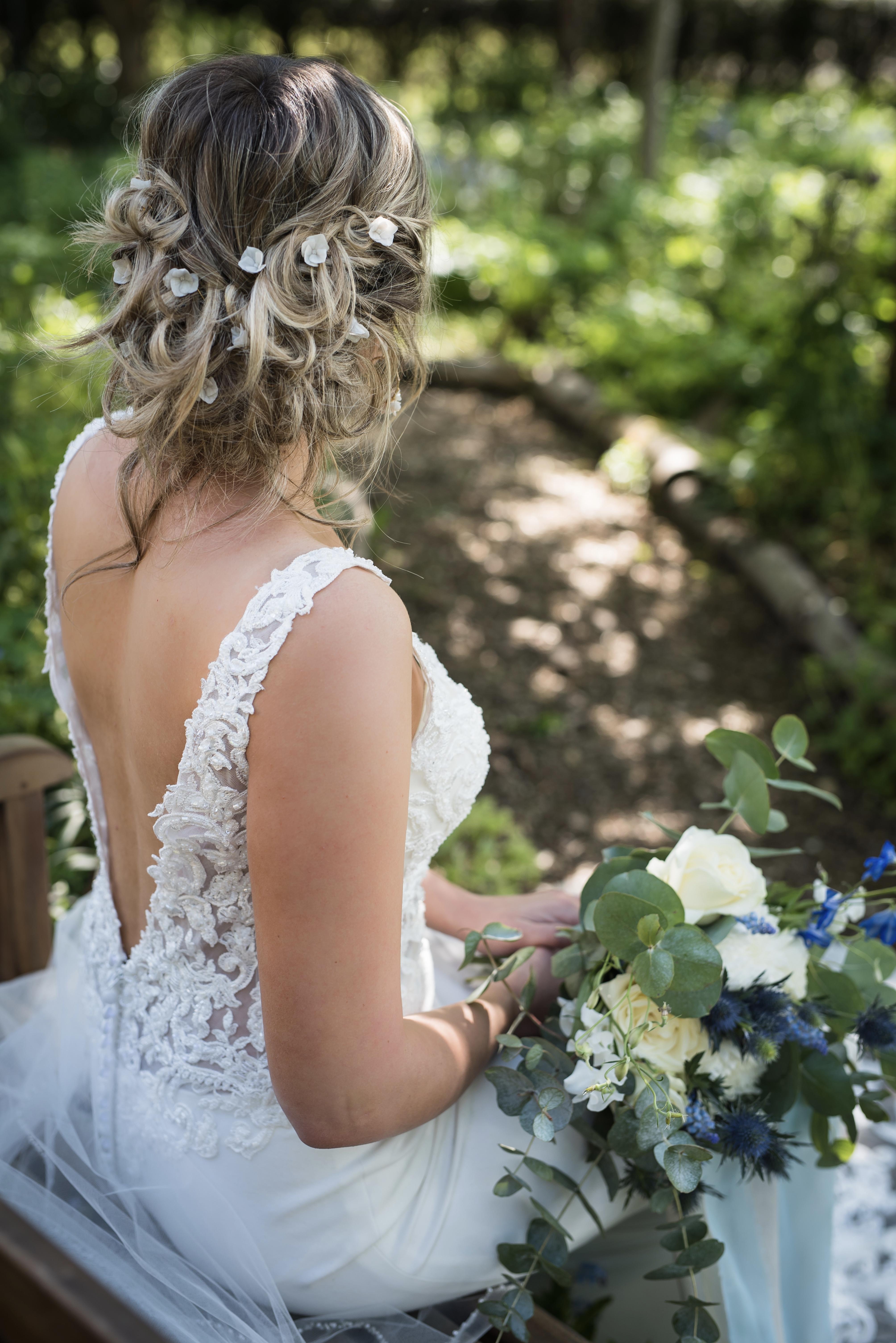 Sacha Floral Bridal Hair Pins