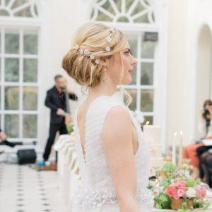 floral bridal hair pins