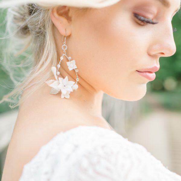 chloe statement bridal earrings