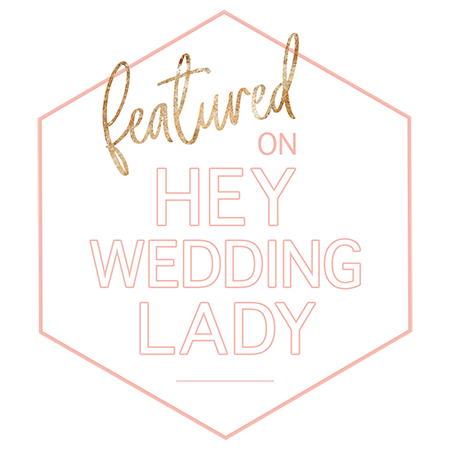 Hey Wedding Lady Blog Feature