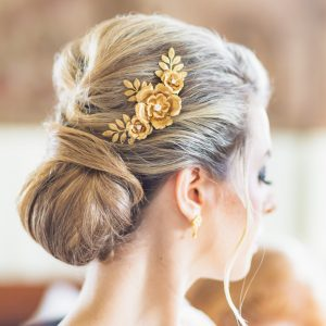 Eugenie bridal hair comb