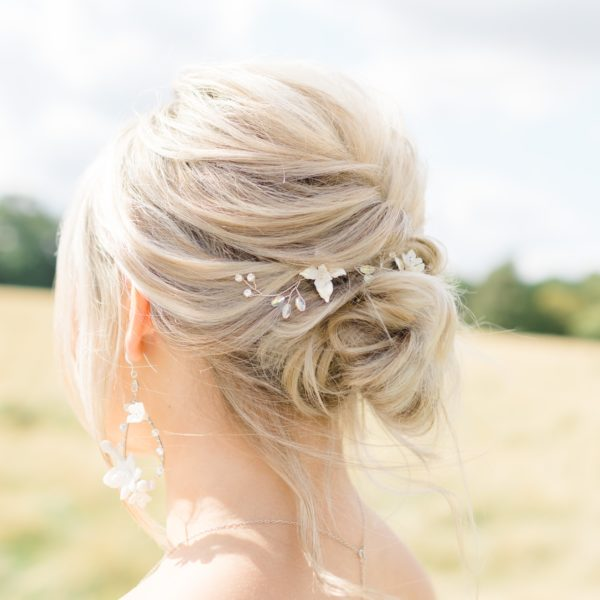 Rosie bridal hair vine