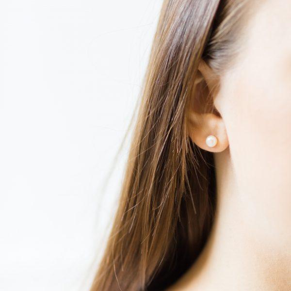 Abigail Pearl Bridal Earrings