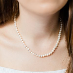 'Margaret' pearl bridal necklace