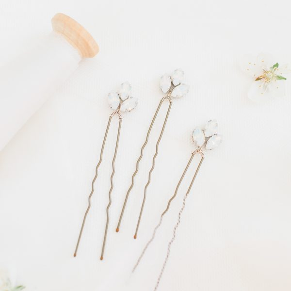 Stella bridal hair pins