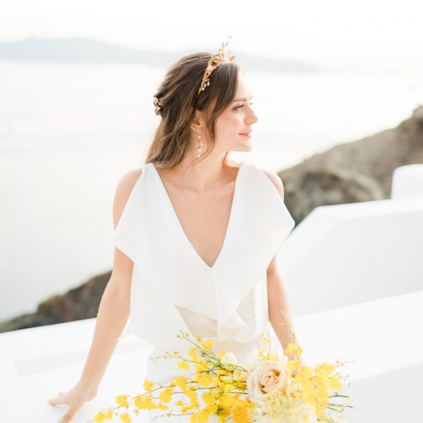 Ophelia Bridal Hair Crown