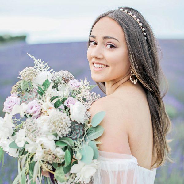 Sophie Pearl Bridal Headband