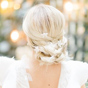 Flower Bridal Hair Pins